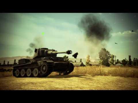 World of Tanks. Конкурсный канал работ бета-тестеров.